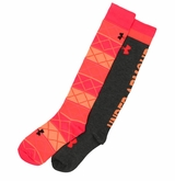 Under Armour Argyle Performance OTC Women's Socks - 2 Pack