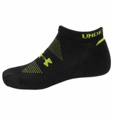 UnderArmour HeatGear Charged No Show Socks - 2 Pack