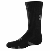 UnderArmour HeatGear Youth Crew Socks - 3 Pack