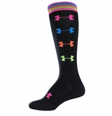 UnderArmour Women's Recur Over the Calf Socks - 2 Pack
