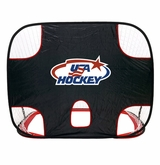 "USA Hockey 54"" Pop-Up Hockey Net w/Target"