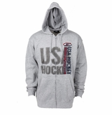 USA Hockey Lightweight Sr. Full Zip Hoody