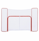 USA Hockey Pro Form 72in. Regulation Hockey Net w/ QuickNet Mesh System and Backstop