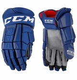 Vancouver Canucks CCM Crazy Light Pro Stock Hockey Gloves