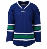 Vancouver Canucks Old Reebok Edge Uncrested Adult Hockey Jersey
