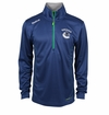 Vancouver Canucks Reebok Baselayer Quarter Zip Pullover Performance Jacket