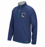 Vancouver Canucks Reebok Center Ice Sr. Quarter Zip Pullover
