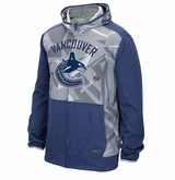 Vancouver Canucks Reebok Center Ice TNT Sr. Full Zip Hooded Sweatshirt