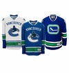 Vancouver Canucks Reebok Edge Jr. Premier Crested Hockey Jersey