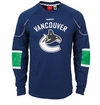 Vancouver Canucks Reebok Edge Sr. Long Sleeve Jersey Tee