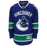 Vancouver Canucks Reebok Edge Premier Adult Hockey Jersey