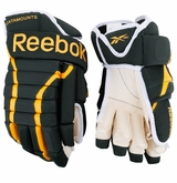 Vermont Catamounts Reebok 852 Pro Stock Hockey Gloves