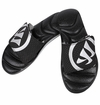 Warrior Adonis Slide Sandals - Black/White