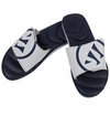 Warrior Adonis Slide Sandals - Navy/Silver