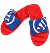 Warrior Adonis Slide Sandals - Red/Blue