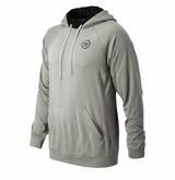 Warrior Away Game Sr. Pullover Hoodie - Heather Gray