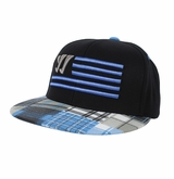 Warrior Caddy Madras Flat Snapback