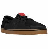 Warrior Coxswain Shoes - Black/Gum Rubber