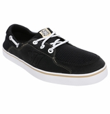 Warrior Coxswain Shoes - Black/White/Tan
