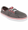 Warrior Coxswain Shoes - Gray/Red