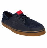 Warrior Coxswain Shoes - Navy/Gum Rubber