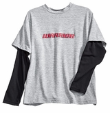 Warrior Crew Yth. Long Sleeve Tech Tee