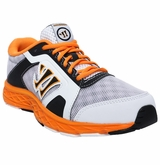 Warrior Dojo 2.0 Yth. Training Shoes - White/Orange