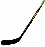 Warrior Dolomite Dragon Green Clear Pro Stock Hockey Stick (Int. Length)