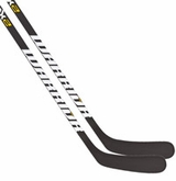 Warrior Dynasty AX1 Matte Clear Sr. Hockey Stick - 2 Pack
