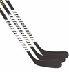 Warrior Dynasty AX1 Matte Clear Sr. Hockey Stick - 3 Pack