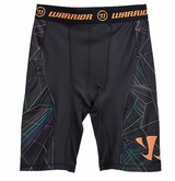 Warrior Game On Printed Sr. Compression Short
