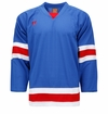 Warrior KH130 Sr. Hockey Jersey - New York Rangers