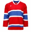 Warrior KH130 Yth. Hockey Jersey - Montreal Canadiens