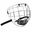 Warrior Krown LTE Silver Hockey Facemask