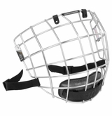 Warrior Krown Silver Hockey Facemask