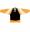 Warrior Lightning KH300 Sr. Hockey Jersey - Black/Gold/White