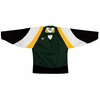 Warrior Lightning KH300 Sr. Hockey Jersey - Dark Green/Gold/Black