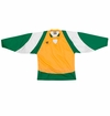 Warrior Lightning KH300 Sr. Hockey Jersey - Gold/Green/White