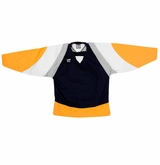 Warrior Lightning KH300 Sr. Hockey Jersey - Navy/Gold/Gray