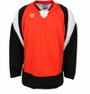 Warrior Lightning KH300 Sr. Hockey Jersey - Orange/Black/White