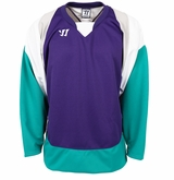Warrior Lightning KH300 Sr. Hockey Jersey - Purple/Teal/White
