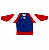 Warrior Lightning KH300 Sr. Hockey Jersey - Royal/Red/White