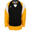 Warrior Lightning KH300Y Jr. Hockey Jersey - Black/Gold/White
