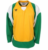 Warrior Lightning KH300Y Jr. Hockey Jersey - Gold/Green/White