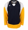 Warrior Lightning KH300Y Jr. Hockey Jersey - Navy/Gold/Gray