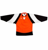 Warrior Lightning KH300Y Jr. Hockey Jersey - Orange/Black/White