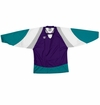 Warrior Lightning KH300Y Jr. Hockey Jersey - Purple/Teal/White