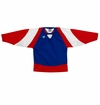 Warrior Lightning KH300Y Jr. Hockey Jersey - Royal/Red/White