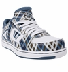 Warrior Low Dog Jr. Shoes - Blue/Plaid