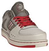 Warrior Low Dog Lifestyle Shoe - Gray/Red